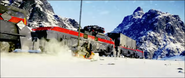 JC4 Train and snowmobile in the story trailer
