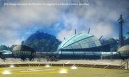 Panau International Airport (main building rear)