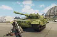 JC4 mod reskinned Warchief Assault Tank green camo