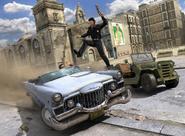 JC1 promotional art - hijacking a Cutler-Randall Conquistador