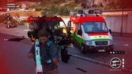 Lantuina (propaganda van and another burning)