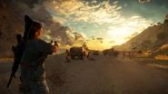 Just Cause 3 leaked screenshot (road shooting 2)