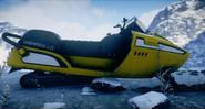 JC4 snowmobile side closeup