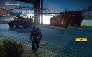 Guardia Libeccio 1 Black Hand Vehicles