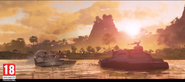 JC4 trailer screenshot (two new boats)