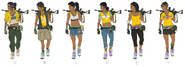 JC4 6 concept drawings of an AoC woman