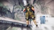 JC4 mod Black Hand machine gunner custom character model