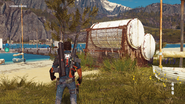 JC3 usable life rafts at Litore Torto