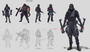 JC4 concept of some Black Hand specialist soldiers
