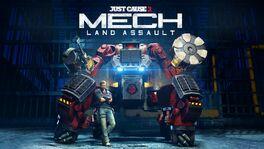 Mech Land Assault logo and black hand mech.jpg