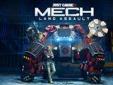 Mech Land Assault