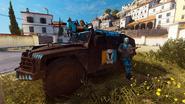 Rebellion Urga Szturm 63A (screenshot from a first person view mod)