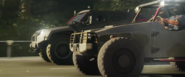 JC4 screenshot from trailer two different military cars