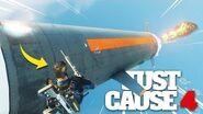 Just Cause 4 - NEW RIDEABLE NUKE MISSILE!