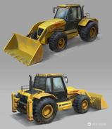 JC4 concept for a Wheel Loader