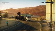 Camion-trailer-truck-driving-side