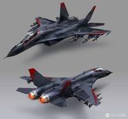 JC4 concept for Thunderhead Bomber Jet