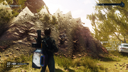 JC4 crude texture in the countryside