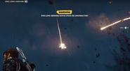 JC3 SAM hitting military jet