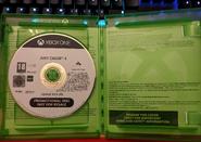 JC4 game box internal (promotional Xbox One)