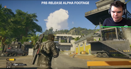 JC4 screenshot pre-launch gameplay video (APC and trailer-tower)