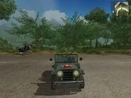 Wallys GP, Guerrilla version, patrol, front view.