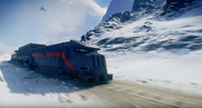 JC4 locomotive with Rico in the stunt position