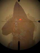 Black Hand Sniper close up