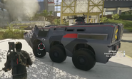JC4 APC with an automated MG turret