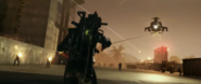 JC4 screenshot from trailer Rico grapple and Black Hand helicopter