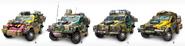 JC4 cut concept of Pugilista SUV equipment variation
