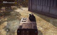 Black Hand Urga Szturm 63A Top Rear