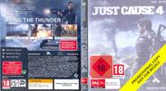 JC4 game box external (promotional Xbox One)