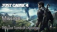 Just Cause 4 Mission The Lost Tomb of Otorongo