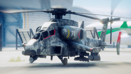 JC4 mod reskinned Spectre Attack Helicopter