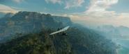 JC4 microplane above jungle