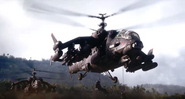 JC4 Black Hand helicopters deploying soldiers (eye of the storm trailer)