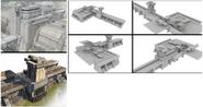 JC4 development of base concrete buildings