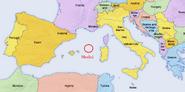 Medici location map