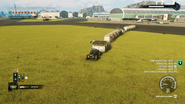 JC4 airport train with 12 cars