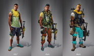 JC4 concept of 3 levels of equipment for the AoC (in more detail)