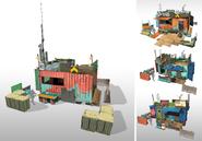 JC4 development of AoC front shacks