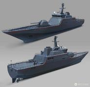 JC4 concept for the Conquistador Warship