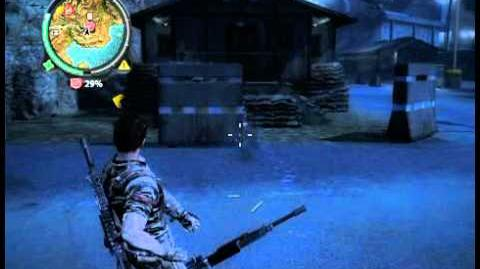 Just Cause 2 Weapon glitches
