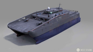 JC4 concept for some kind of armed ship