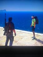 Rico with apparent Panauan tourist