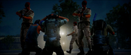 JC3 arrest at night
