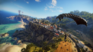 Just Cause 3 coastal town and radar base