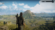JC4 grasslands with mountains in background