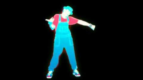 EXTRACT! Step By Step - New Kids On The Block Just Dance 1